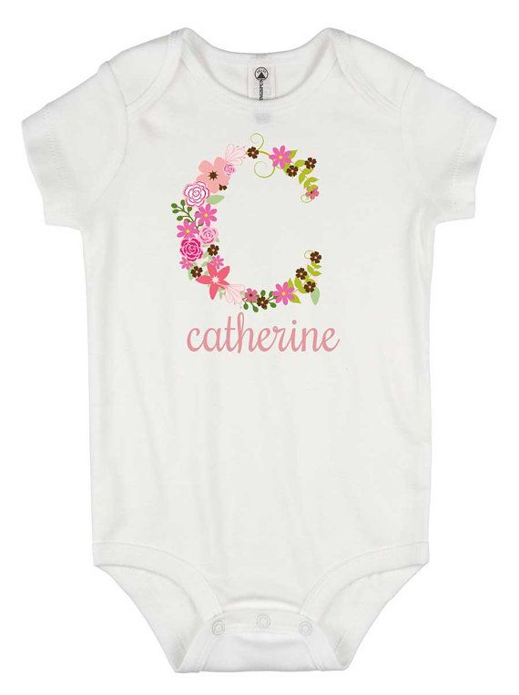816c57542f3e9 Personalized Baby Gift, Baby Girl Gift, Personalized Onesie®, Niece ...