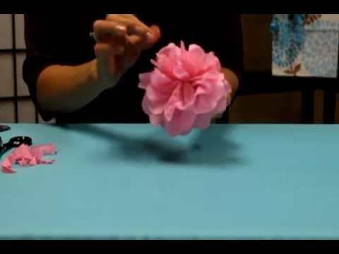 Watch video on how to make tissue paper flowers watch video on how to make tissue paper flowers howtomaketissuepaperflowers http mightylinksfo