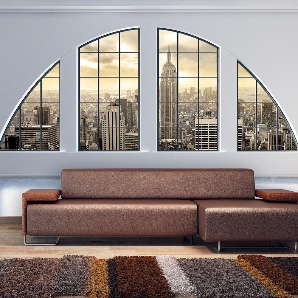 Fototapete Fenster wallpaper non woven photo wall mural print york c c