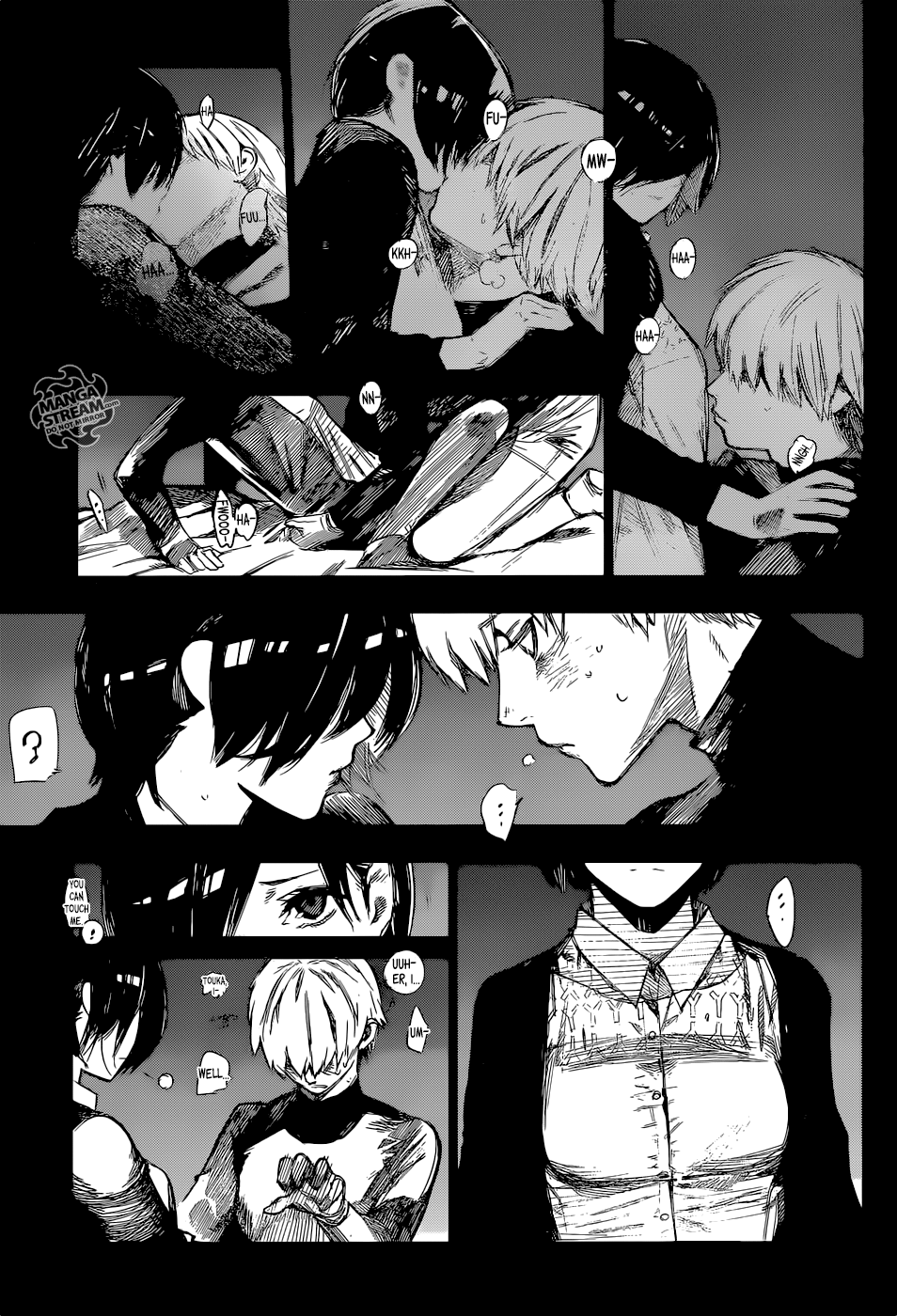 Sốc với cảnh nóng giữa Kaneki và Touka trong chương mới nhất của Tokyo Ghoul: Re