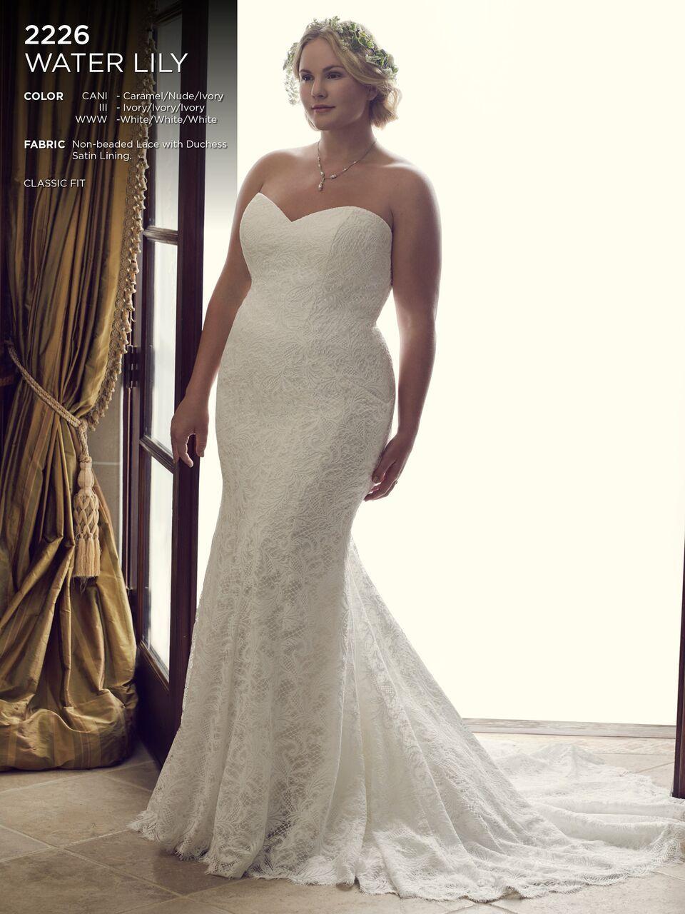Silhouette wedding dresses simple bridal  Casablanca
