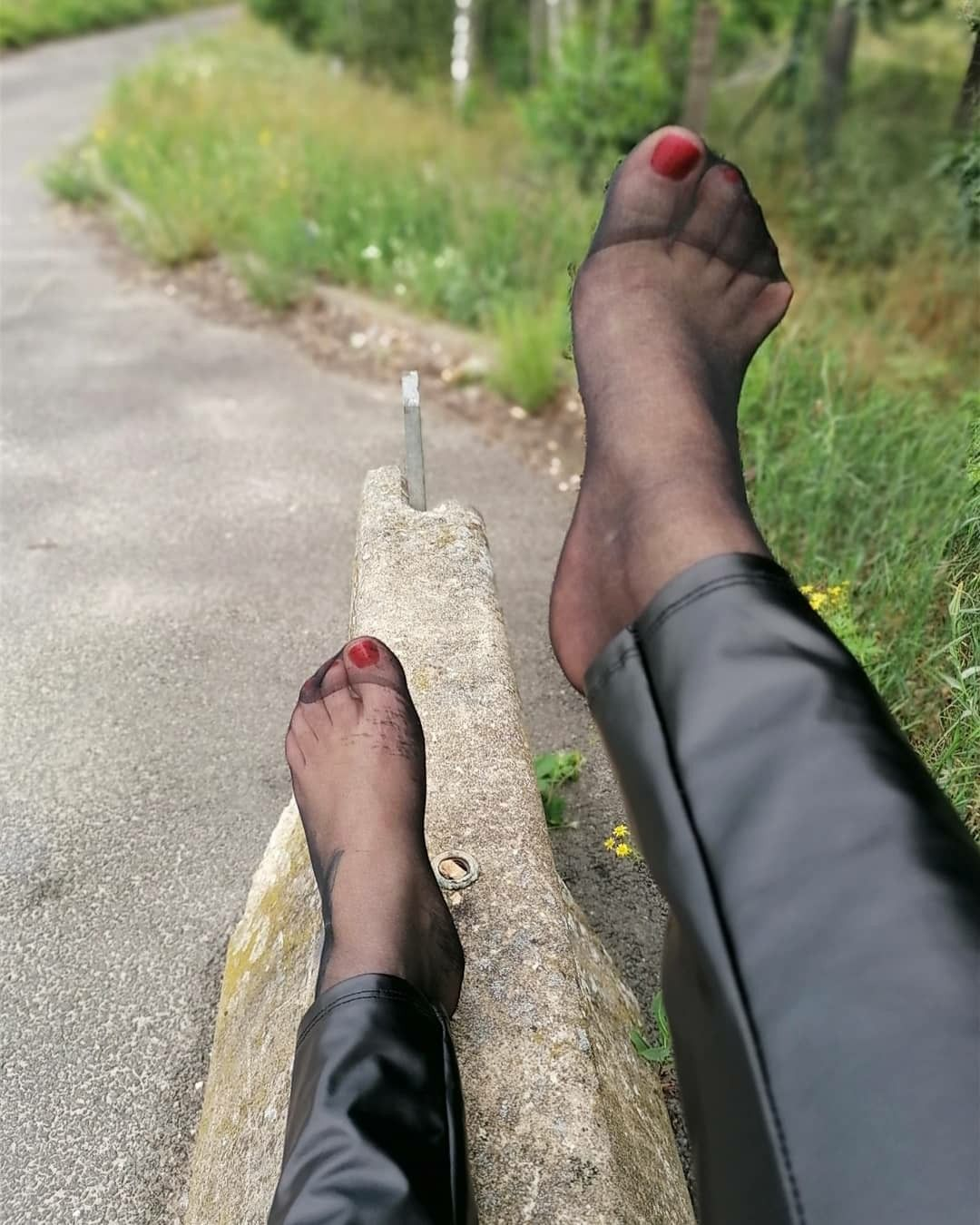 Nylons feet in The Indianapolis
