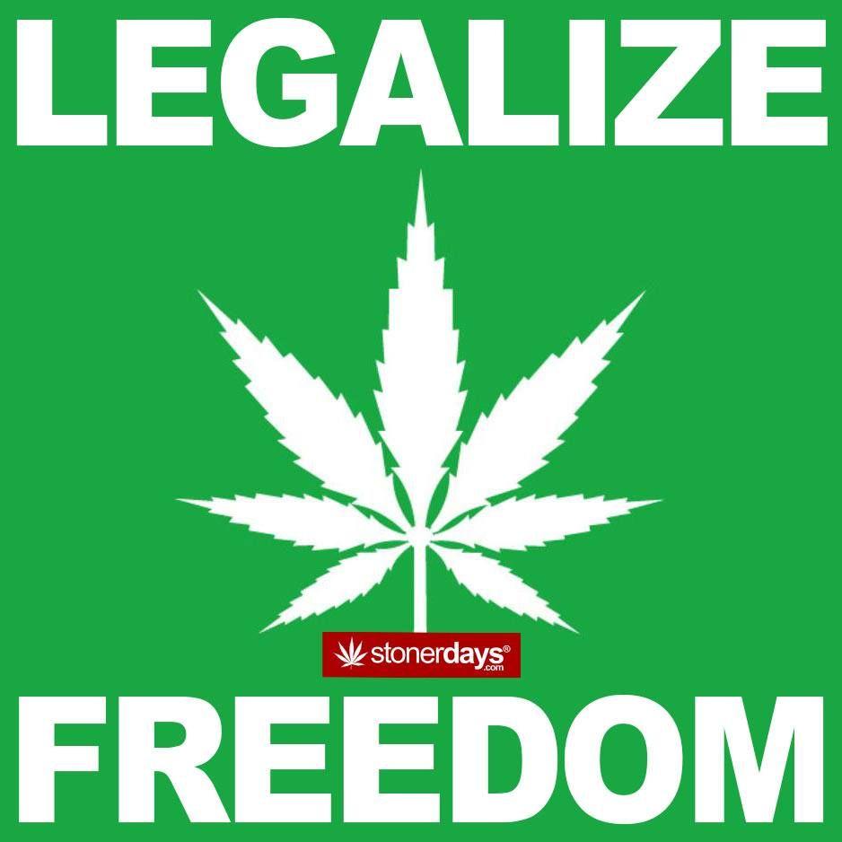 Freedom Legalizeit Stonerdays Stayblazed