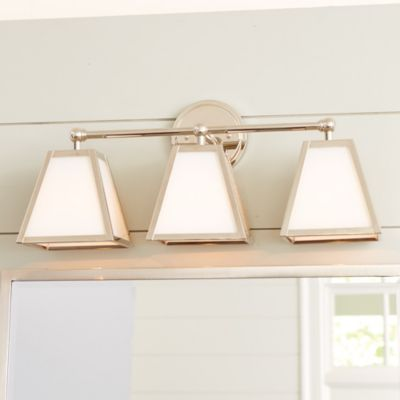 Amelie vanity triple sconce lighting ballard designs