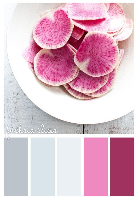 Gold On The Ceiling: Fuchsia Slices