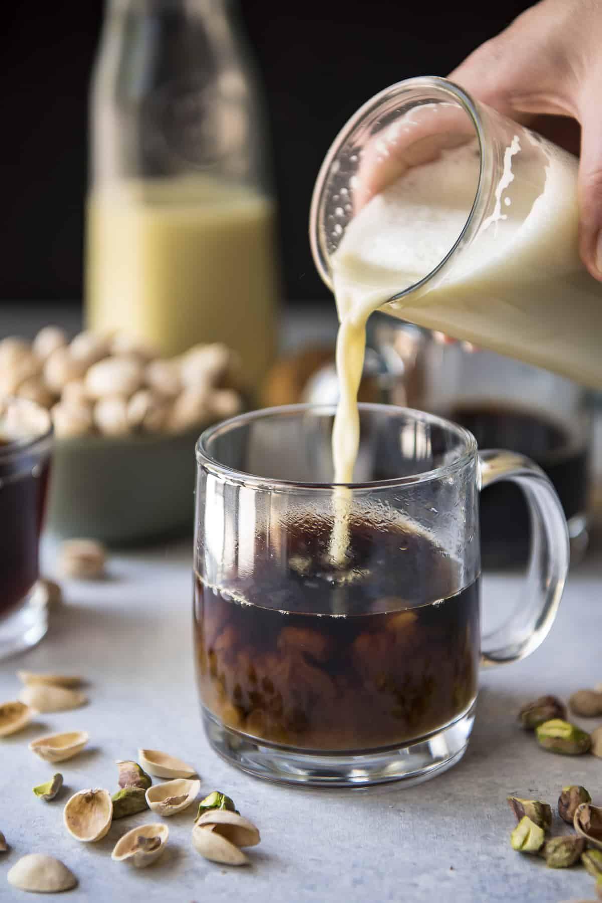 Creamy Pistachio Latte recipe Latte recipe, Cafe latte