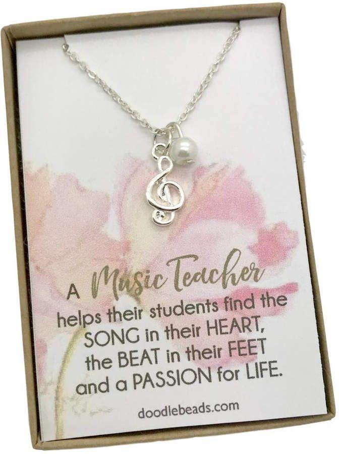 Etsy Gift For Music Teacher Piano Teacher Gift Dainty