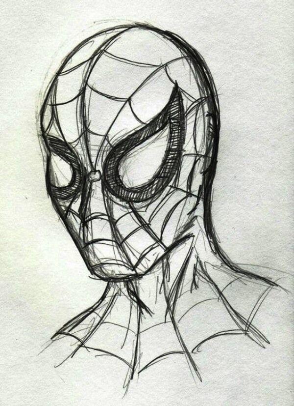 Spiderman And Venom Coloring Pages Dibujos Fáciles Y Divertidos Spiderman Dibujo Dibujos A Lápiz Increíbles