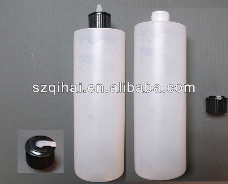 500ml Plastic Hdpe Bottle With Spout Cap For Cosmetic