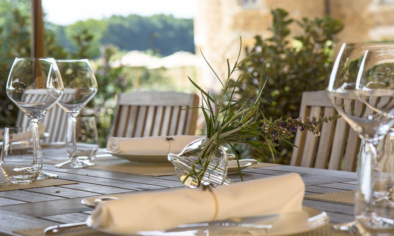 Petit déjeuner au Domaines des étangs, hôtel de luxe à Massignac © Pluris