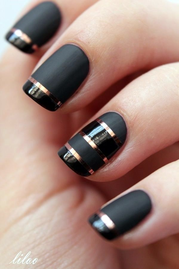55 Easy New Years Eve Nails Designs and Ideas 2017 | Unghie ...