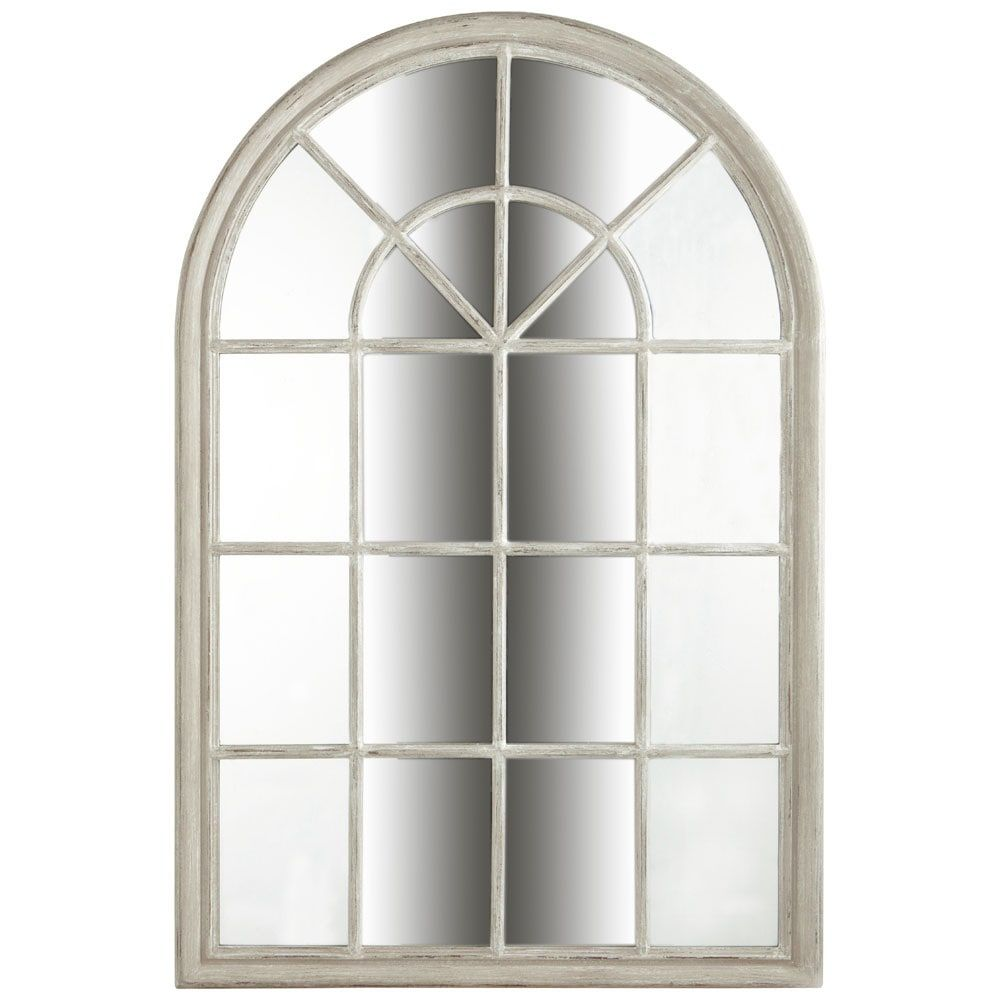 Miroir Beige H 150 Cm Maisons Du Monde Entrée Miroir Maison