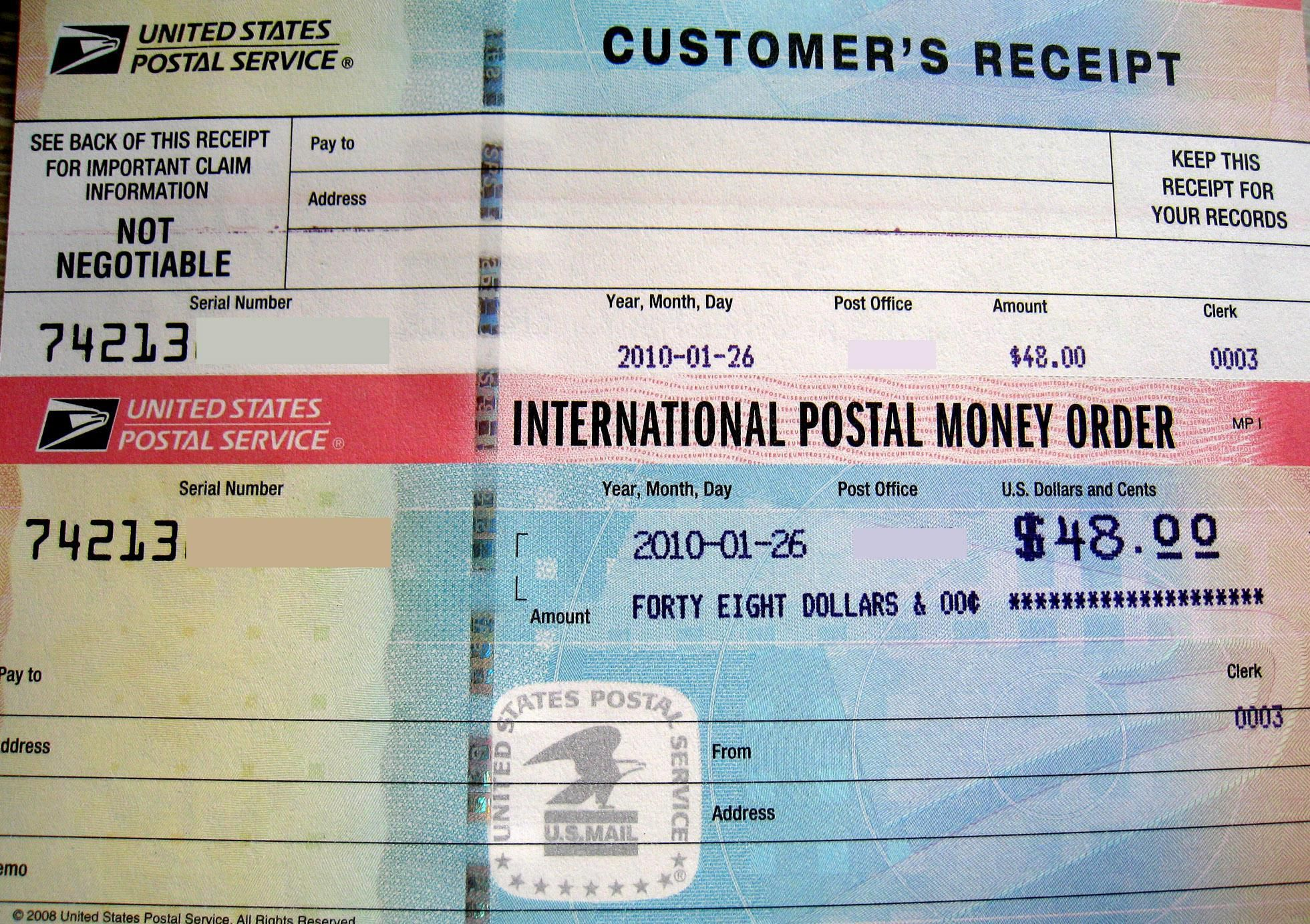 Where And How To Use A Money Order Money Order Fake Money Printable Play Money