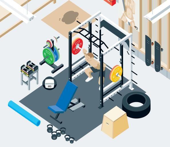 die besten 25 bester fitnessraum zuhause ideen auf pinterest fitnessstudio zu hause. Black Bedroom Furniture Sets. Home Design Ideas