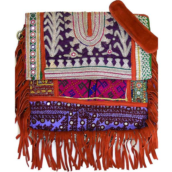 Vintage Addiction Boho Chic Fringed Messenger Bag (383922601) (1.355 BRL) ❤ liked on Polyvore featuring bags, messenger bags, handbags, fringe messenger bag, pouch bag, vintage messenger bag and bohemian messenger bag