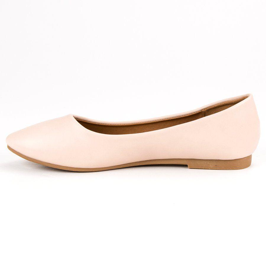 Wygodne Baleriny Brazowe Wielokolorowe Shoes Fashion Flats