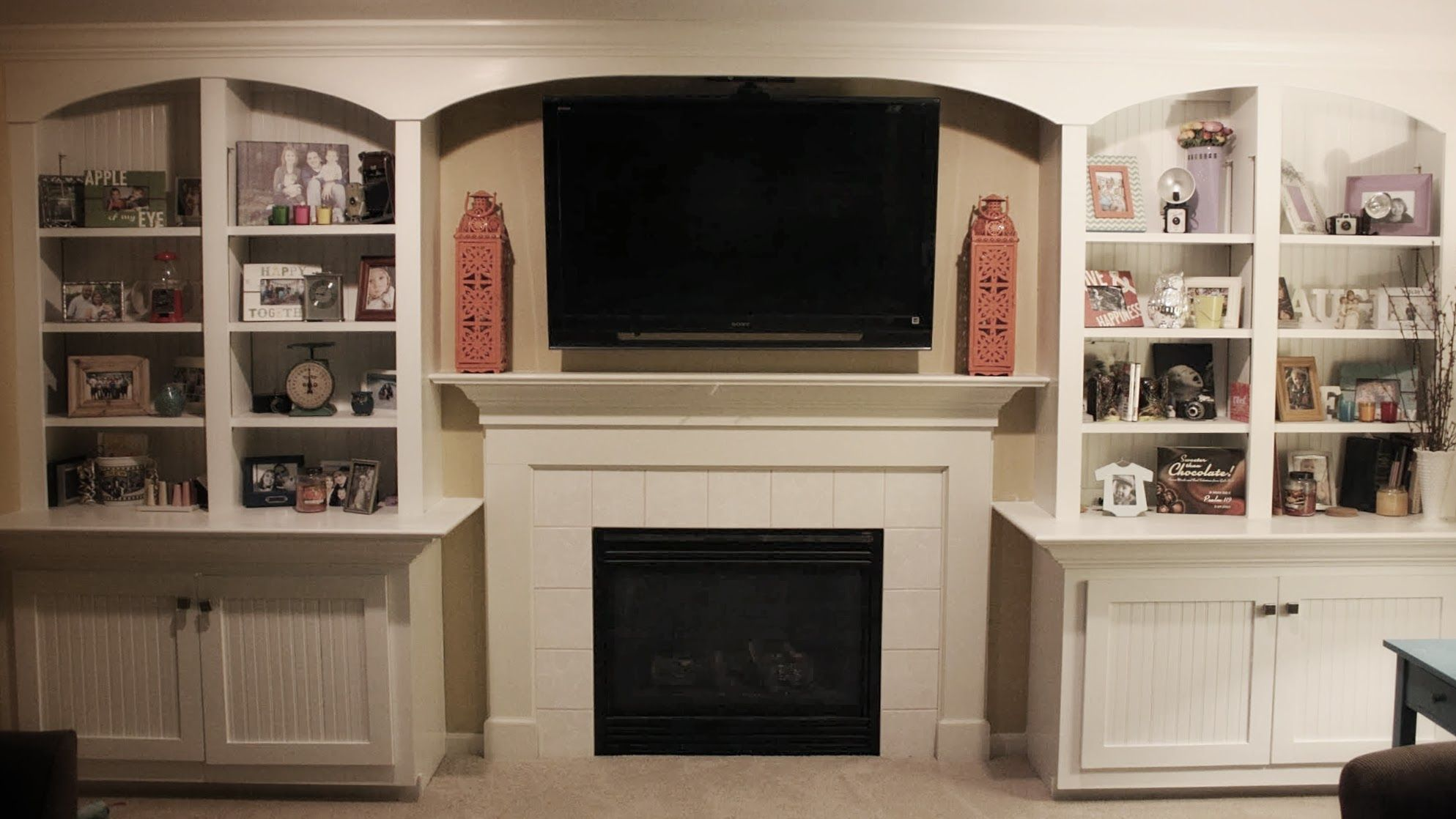 Awesome bookcase entertainment center ideas for the home