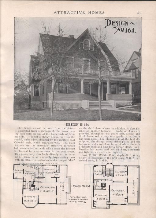 Colonial Revival Style Home Plan from the 1920's with a gambrel roof on bungalow home designs, gay home designs, shed home designs, duplex home designs, farmhouse home designs, attic home designs, general home designs, barn style home designs, single slope home designs, adirondack home designs, smith home designs, contemporary home designs, residential home designs, antique home designs, wood home designs, mansard home designs, game home designs, federal home designs, studio home designs, dome home designs,