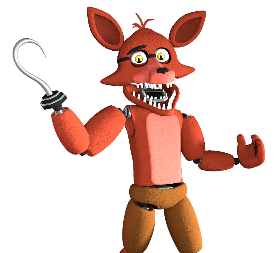 Unwithered Foxy the Pirate [Render] (SFM) by Arrancon   Five