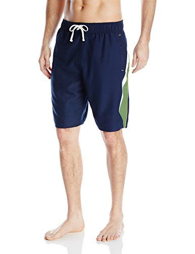 Introducing Balboa Mens Splice Swim Trunks NavyLime Large. Get Your Ladies Products Here and follow us for more updates!