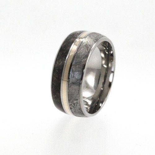 Meteorite Ring Dinosaur Bone And By Jewelrybyjohan 1167 00