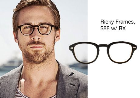 4387a59187 Ryan Gosling wears prescription specs with confidence and style. -  Lookmatic s trendy