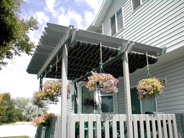 Slide Wire Cable Canopies | Sugar House Awning