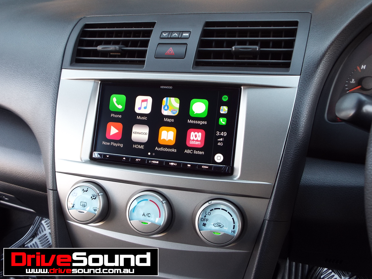 Toyota Camry with Apple CarPlay installed by DriveSound