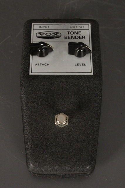original 1960 39 s vox tone bender v828 w original sales rece amplifiers music lead guitar beats. Black Bedroom Furniture Sets. Home Design Ideas