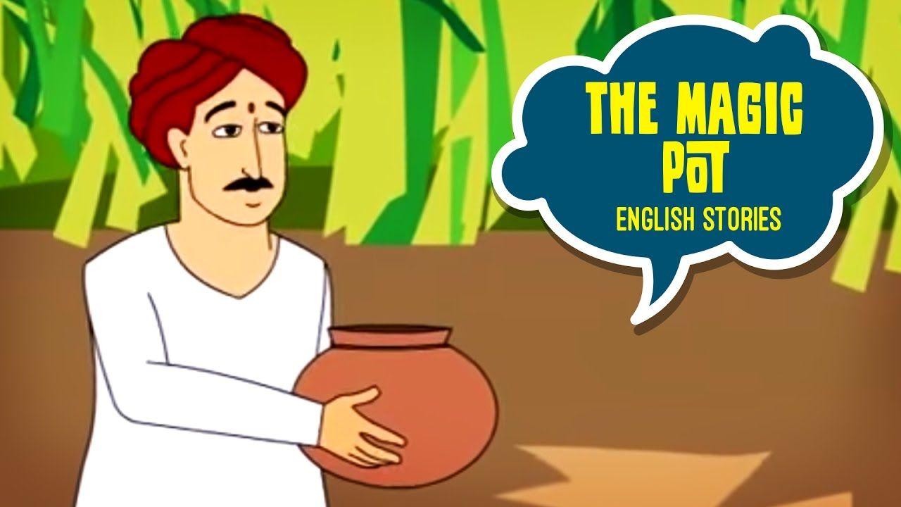 Magic Pot - English Moral Story for Kids | language lab