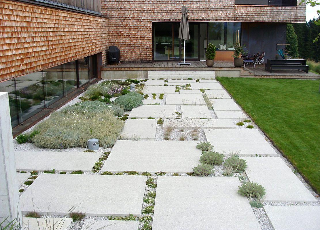 Romantischer Landschaftsgarten Landschaftsarchitektur Steingarten Garten