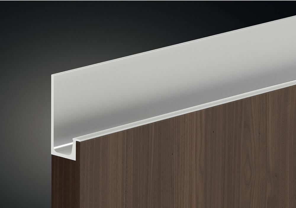 Profile Handle Anodised Aluminium Length 2500 Mm Hafele U K Shop Kitchen Cabinet Handles Furniture Handles Cabinet Handles