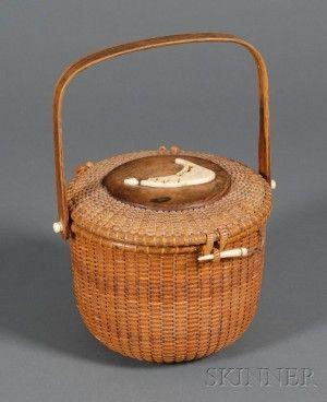 Nantucket Friendship Basket Purse by Sherwin P. Boyer