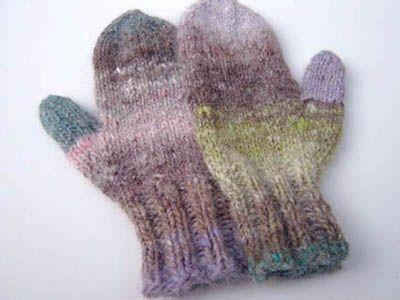 Beginnerknittinginstructions Beginner Knitted Mittens Pattern