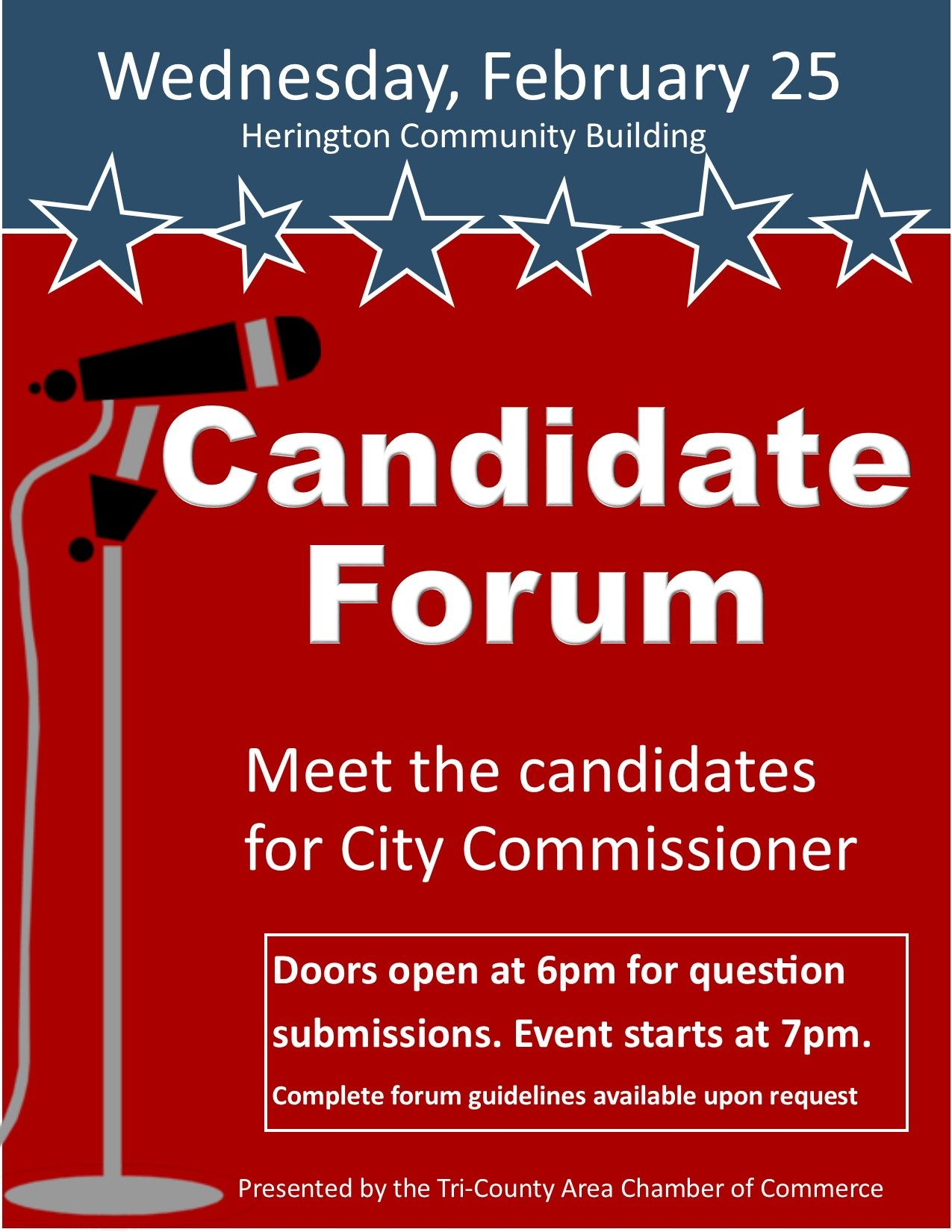 tbnewswatch meet the candidates flyer