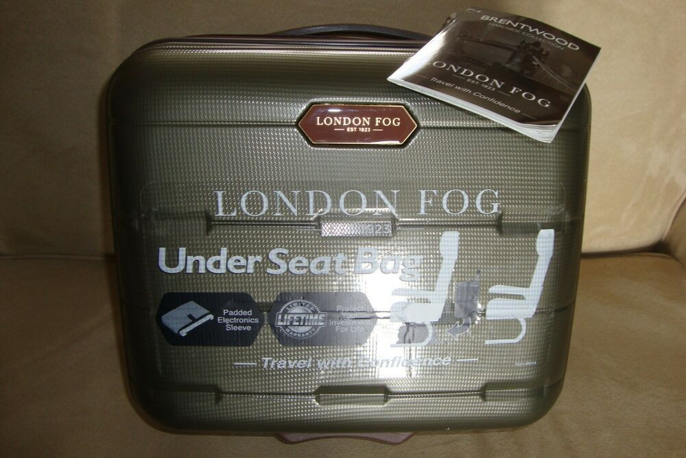 London Fog Brentwood Hardside Under The Seat Travel Luggage Bag 15 X 13 X 8 Londonfog In 2020 Travel Luggage London Fog Luggage Bags