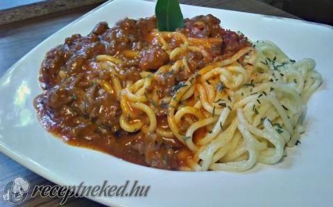 Bolognai Spagetti recept - Receita - Hungria