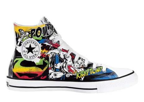 DC x Converse Shoe Line: Green Lantern, Superman, Batman