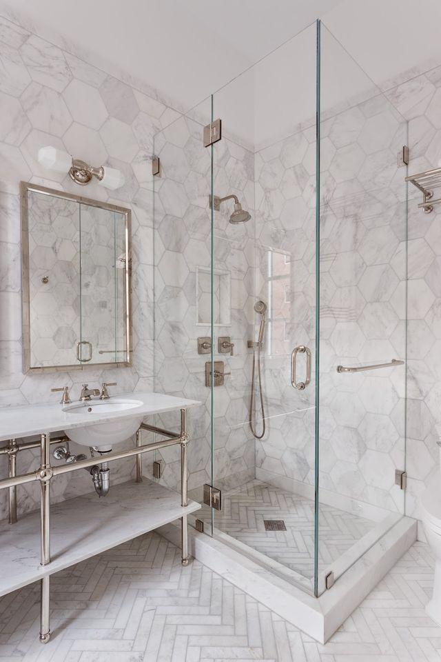 i like the flooring for the master home marble bathroom floor rh pinterest com