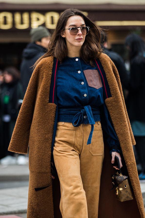 Street style at Paris Fashion Week Fall/Winter 2018-2019 ...