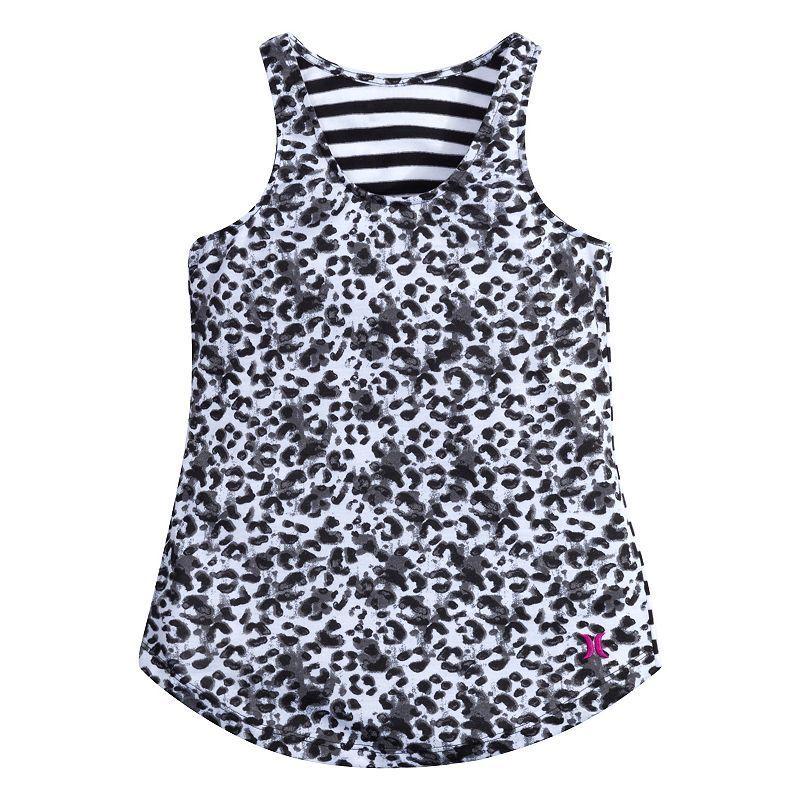 Girls 7-16 Hurley Simone Tank Top, Girl's, Size: