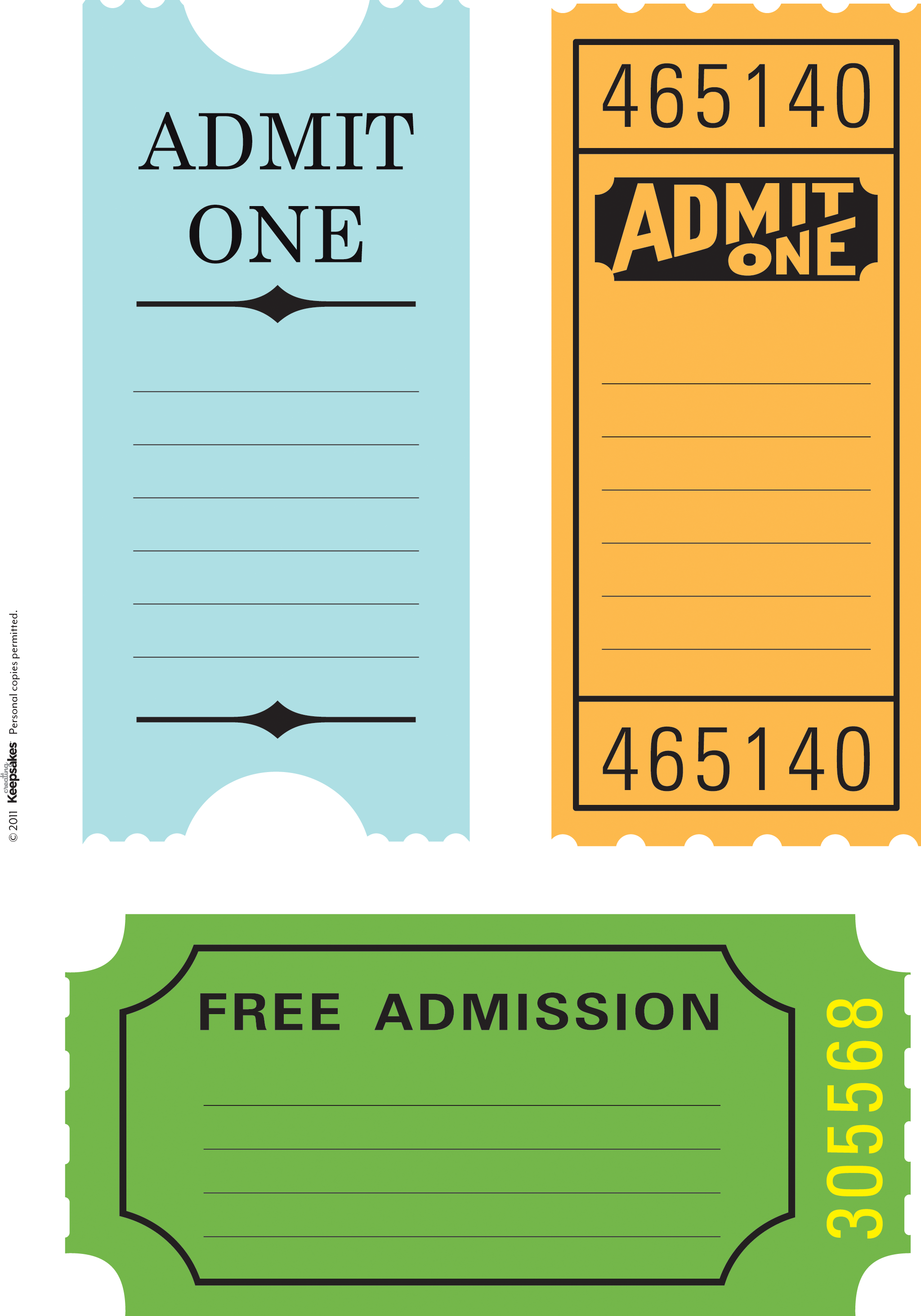 Template tickets 7 free printable raffle tickets template sop