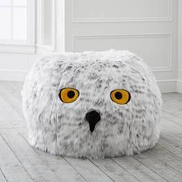 Harry Potter Hedwig Owl Bean Bag Chair With Images