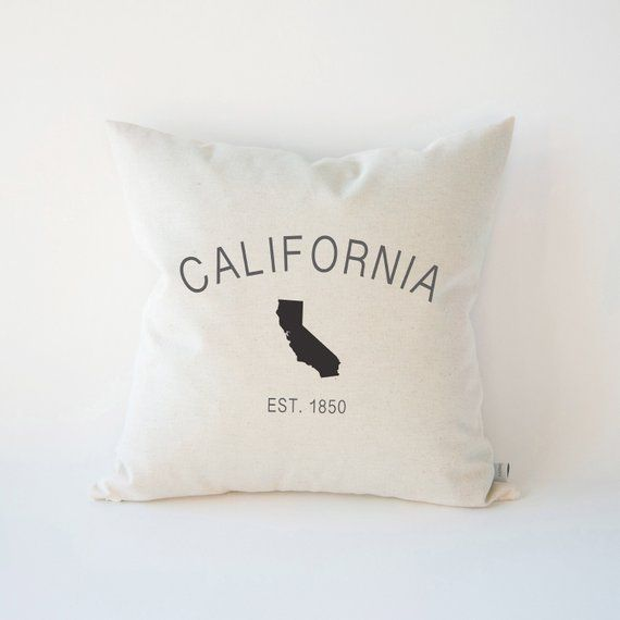 CUSTOM STATE pillow cover pick your