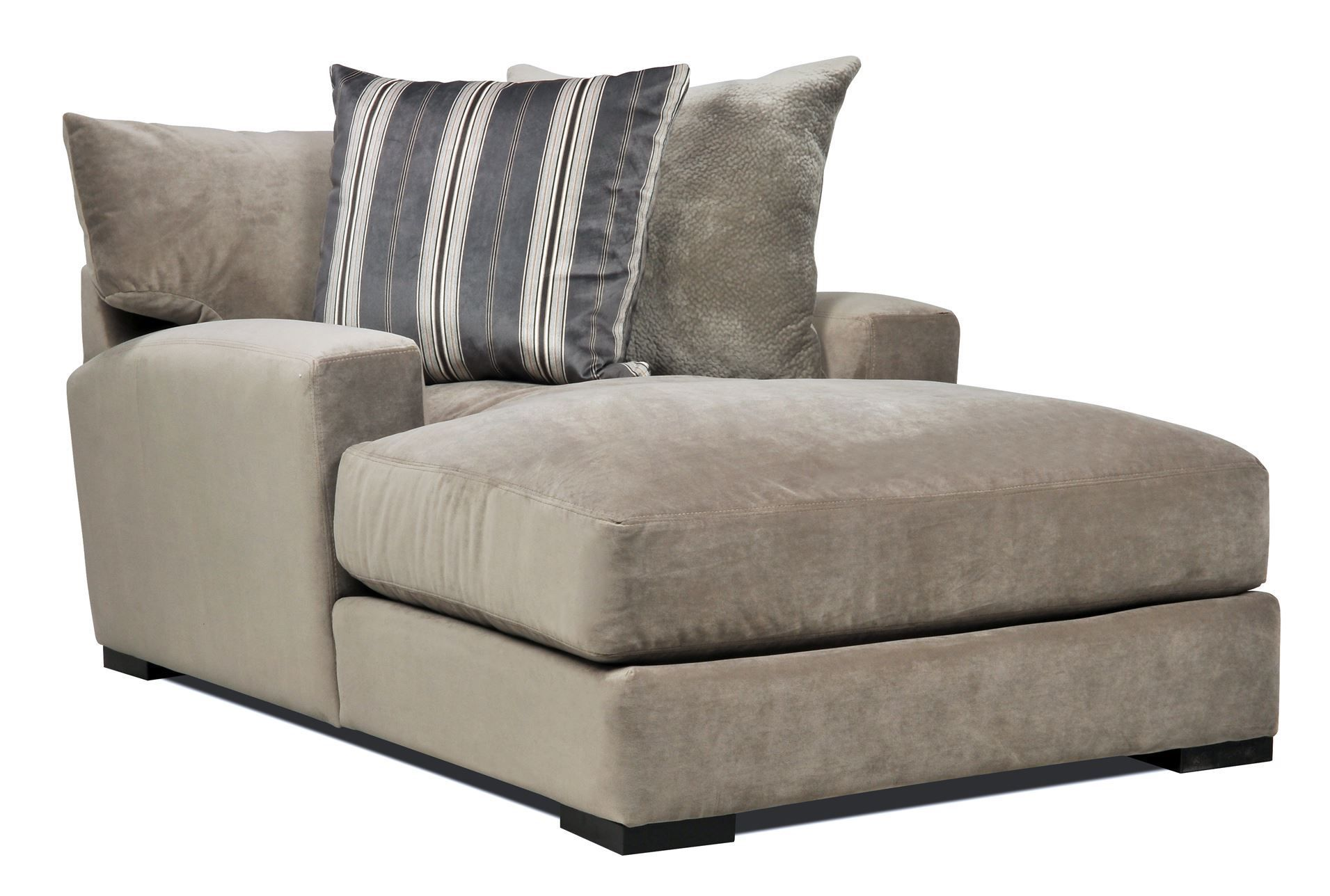 "Eurosace ""Tecno"" A 3 seater with chaise lounge with sliding"