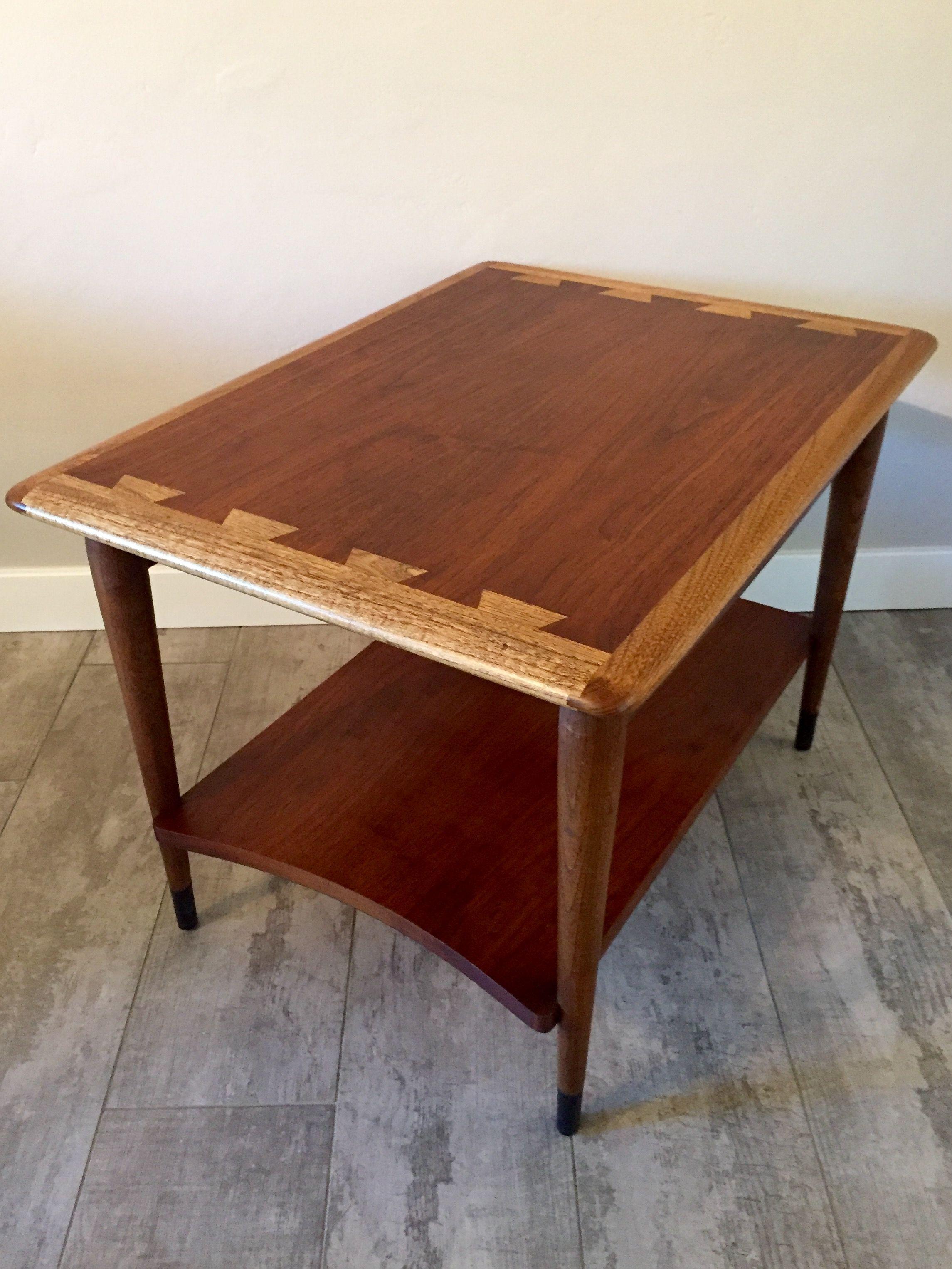 Lane Acclaim Side Table With Shelf Mid Century Modern Furniture Mid Century Modern Side Table Modern Furniture