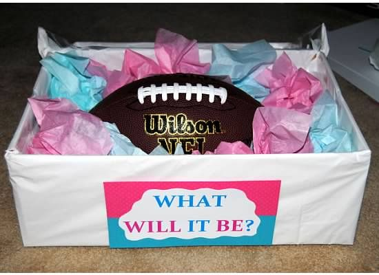 Touchdowns Or Tutus Gender Reveal Party Theme