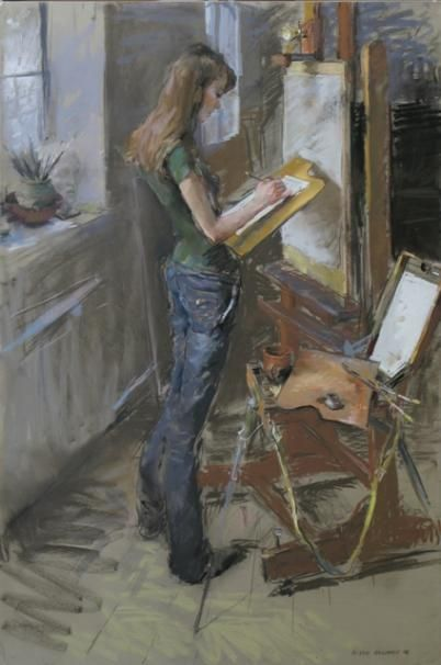 valeriy gridneva  Oh yes, woman and art, a very special love... (MP)
