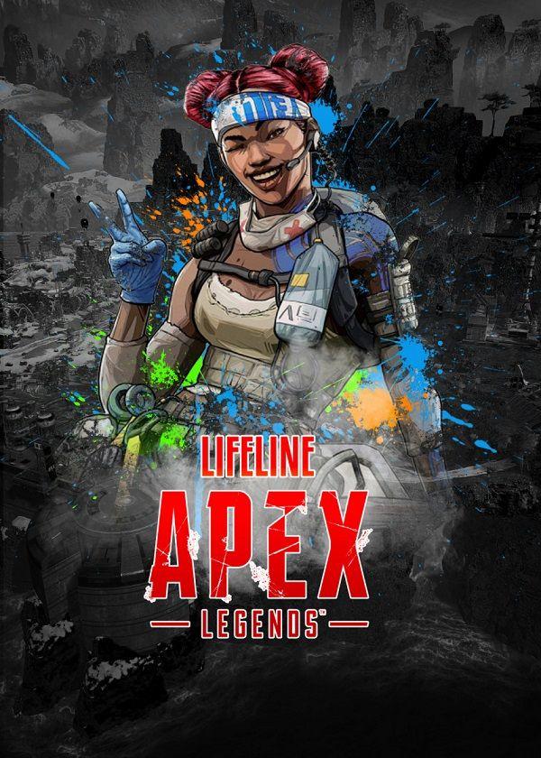 Apex Legends Splatter Characters Displate Posters