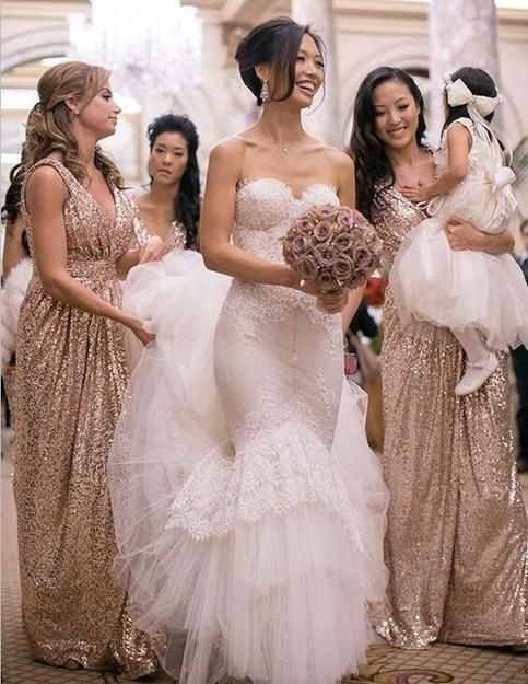Sequin Bridesmaid Dresses Long Off Shoulder